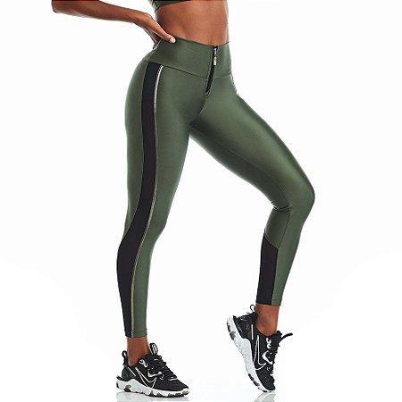 Calça Legging Atletika Silver Verde CAJUBRASIL