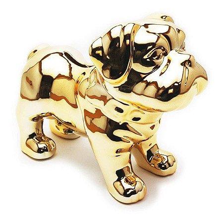 Cofre Bulldog – Dourado