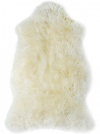 Pelego de Pelo Branco 60×90