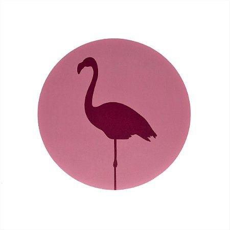 Quadrinho Circular Flamingo