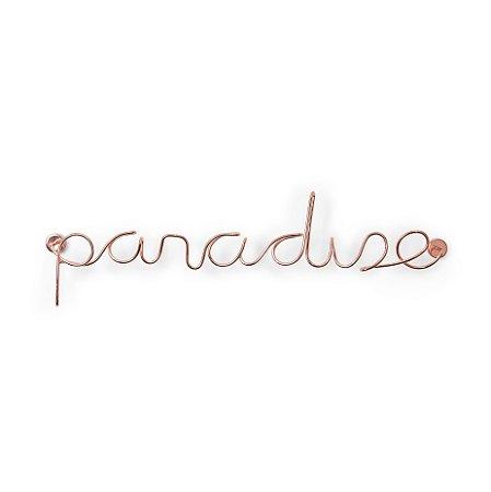Adorno de Parede Paradise Cobre