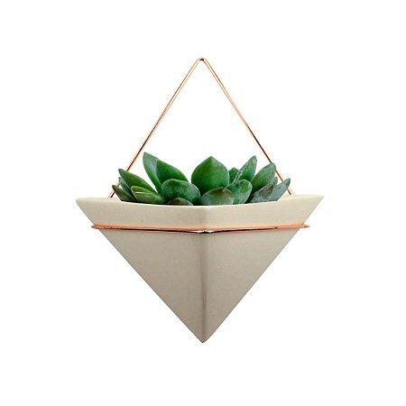 Vaso de Parede Triangle