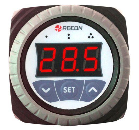 H101 Controlador por Temperatura Ageon 1 sensor e 1 relé