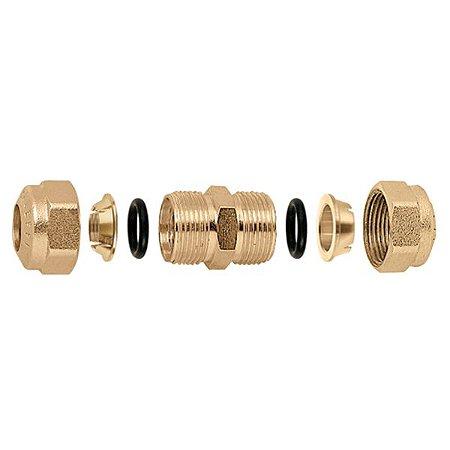 Conector rápido para tubo de cobre, com O-Ring 120°C, união 22mm Caleffi
