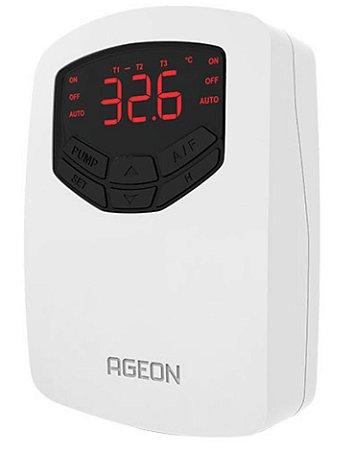 AutomaSol TDA Controlador Solar Térmico por Diferencial de Temperatura Ageon, CDT com 2 relés