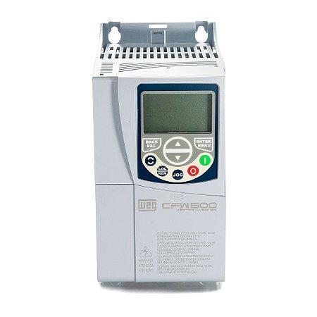 Inversor de Frequencia Weg CFW500 Trifasico 5CV 220V 16A
