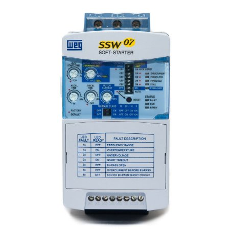 Soft Starter Weg SSW07 24A 7,5CV / 220V 15CV / 380V