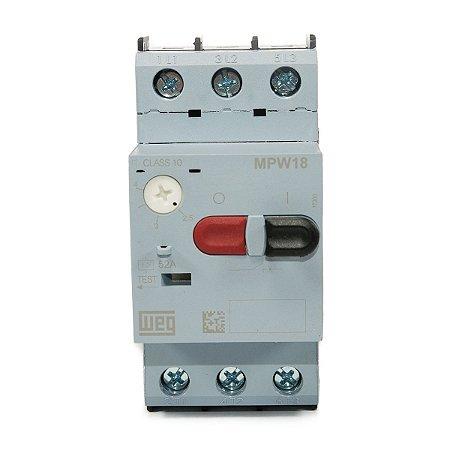 Disjuntor Motor Weg MPW18 2,5-4A
