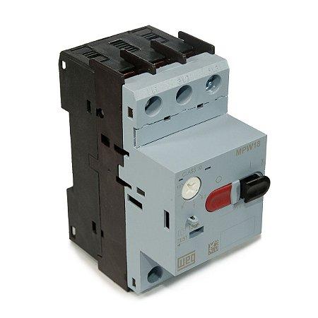 Disjuntor Motor Weg MPW18 Ajuste 6,3-10A
