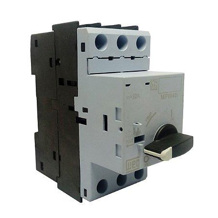 Disjuntor Motor Weg MPW40I 32A 690V