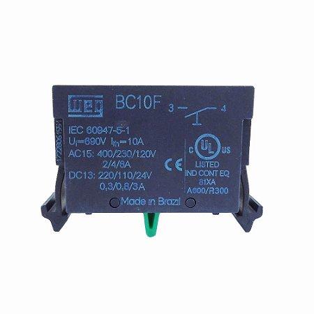 Bloco de Contato Weg BC10F-CSW 1NA para Comando e Sinalização