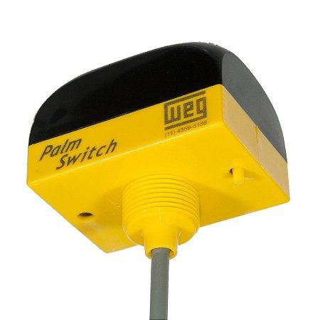 Botoeira Eletrônica Weg de Esforço Zero Palm Switch NR12