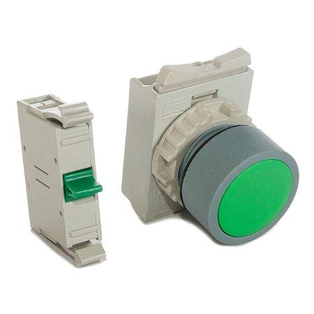Botao Pulsador Verde CEW-BFM2 1NA Weg