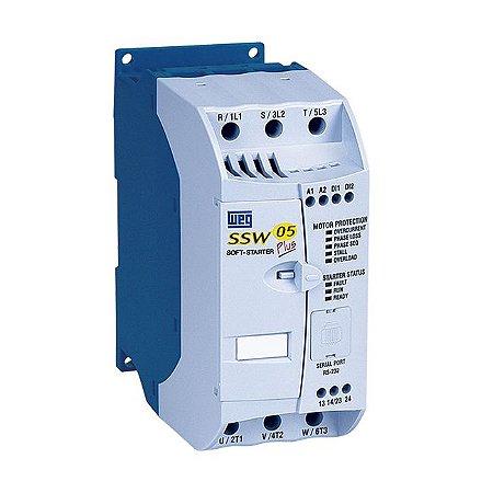 Soft Starter Weg SSW05 10A 3CV 220V 6CV / 380V 7,5CV / 440V