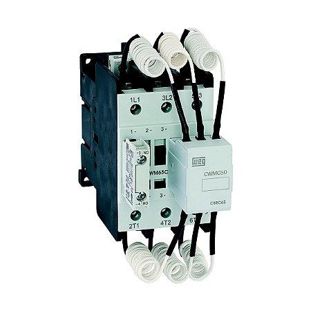 Contator Manobra Capacitor Weg CWMC50 50A 190-220V 3NA+1NF