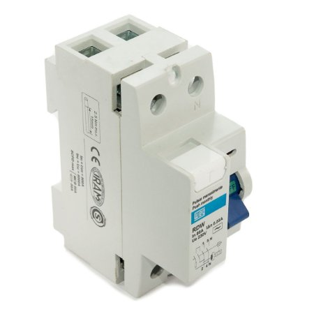 Interruptor Diferencial Residual Weg DR 80A 2 Polos RDW30-80-2