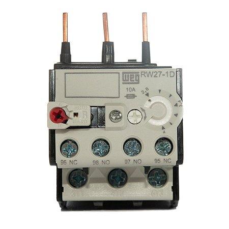 Relé de Sobrecarga Weg RW27-1D3-U004 ajuste 2,8-4A