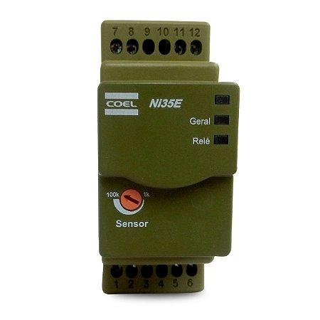 Controle de Nível Eletrônico Reservatório Coel NI35E 240Vca