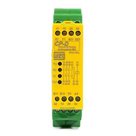 Controle Parada Emergência Weg CP-D 24Vca/Vcc NR12