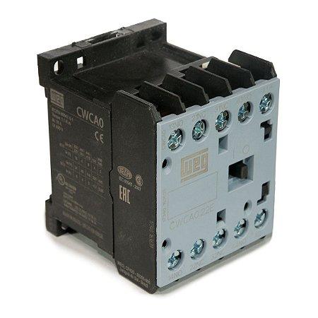 Mini Contator tripolar AZ CWCA0-22-00 10A 2NA+2NF 24VCC Weg