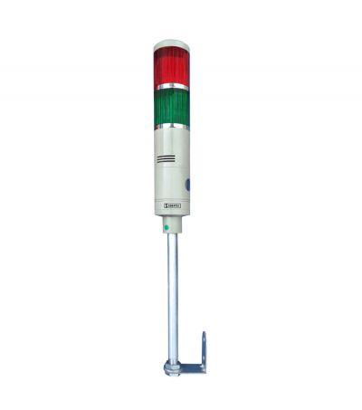 Torre Luminosa Led LTA 5052W 24V Intermitente 2 Cores