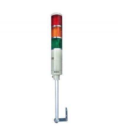 Torre Luminosa LTA5053TJ 220Vac Led Contínuo com 3 Cores e Alarme