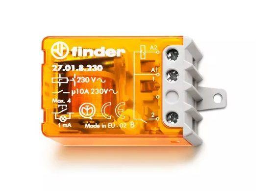 Relé de Impulso 10A 2NA 230V Finder