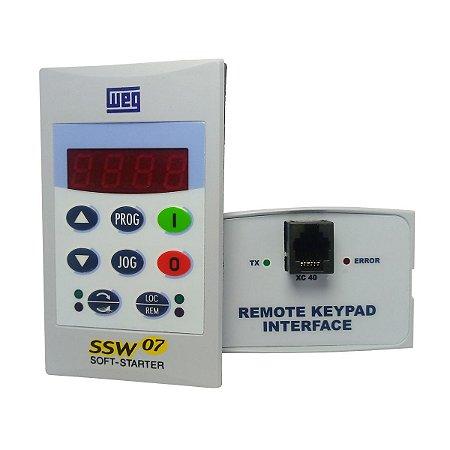 Kit Módulo Interface Remota IHM para Soft Starter SSW07 Weg