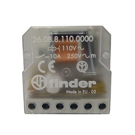 Rele de Impulso Finder 4 Sequencias 110Vac 2NA 10A