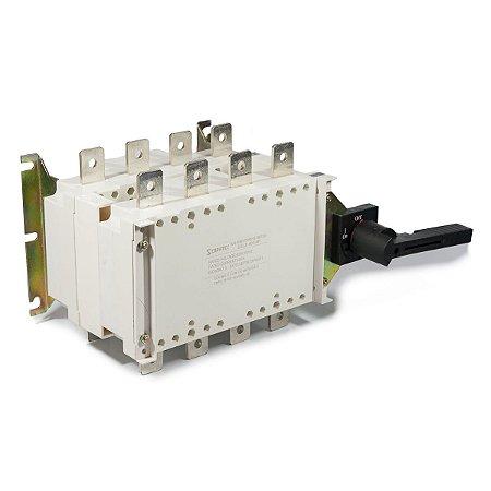 Chave de Transferência Manual Rede / Gerador 400A