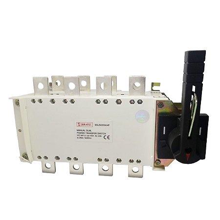 Chave de Transferência Rede/Gerador SGLZ4P 250A