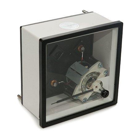 Amperimetro Analogico 96x96mm Medição Indireta 0-5A (Sem Escala)