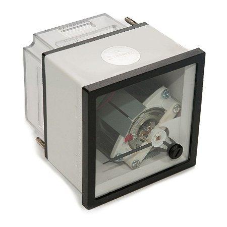 Amperimetro Analogico 72x72mm Medição Indireta 0-5A (Sem Escala)