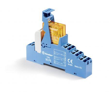 Rele Interface Finder 24Vcc 2 Reversíveis 1NA 8A