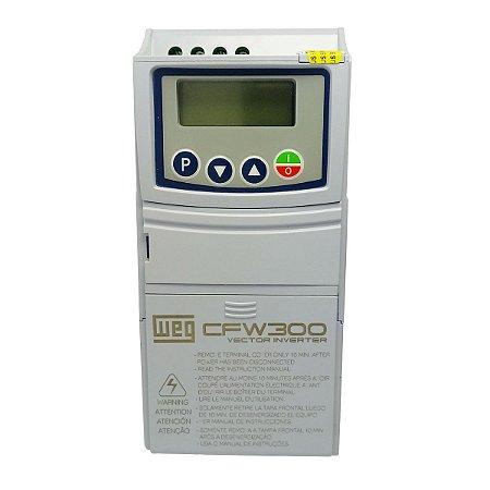 Inversor de Frequência Weg CFW300 Tri 0,25CV 1,6A 220V
