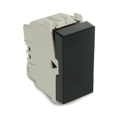 Modulo Interruptor Intermediario Refinatto 10A Weg Preto