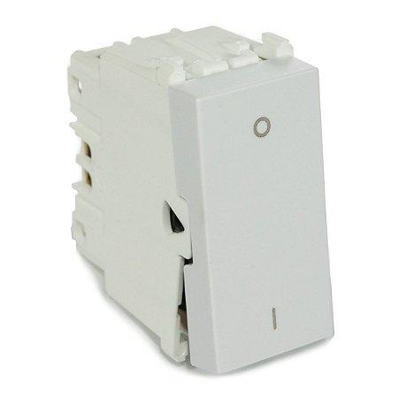 Modulo Interruptor Bipolar Simples 10A Refinatto Weg Branco