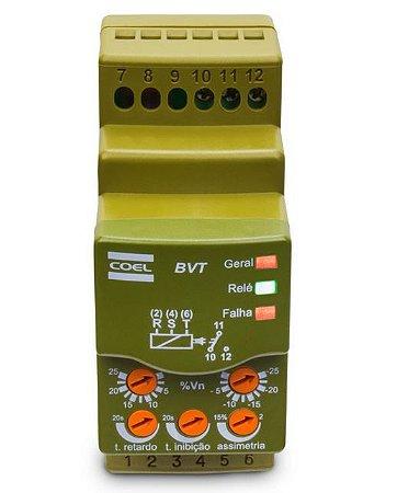Rele Monitor de tensão Trifasico Industrial BVT 380Vca
