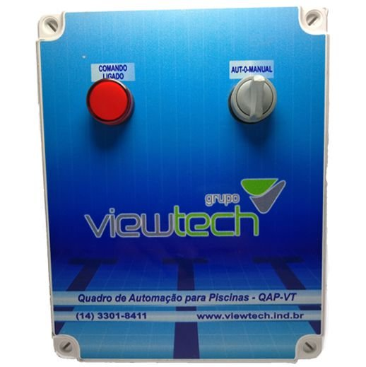 Quadro de Automação para Piscinas QAP-VT 7-10A Trifásico