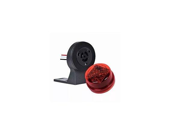 Sensor Rele Fotoelétrico Fotocélula 800W com Base Margirius