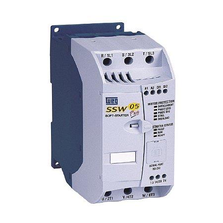 Chave de Partida Soft Starter Weg SSW05 85A 220-440V