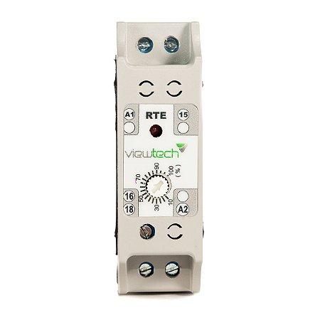 Rele Tempo TRE Retardo na Energização 0 - 6s 220V  View Tech