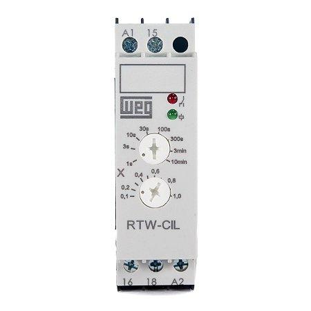 Relé Multi-Temporizador 0,1s-10min 1NAF 24-240Vca 50/60Hz (A1-A2)