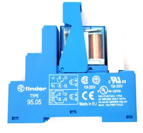 Rele de Interface Finder Bobina 24Vdc 10A 250V