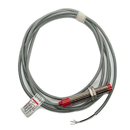 Sensor Indutivo Saliente Weg M12 com Cabo NPN NA+NF 10-30Vcc