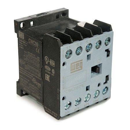 Mini Contator Tripolar AZ CWC09-01-30V26 9A 220VAC 1NF Weg