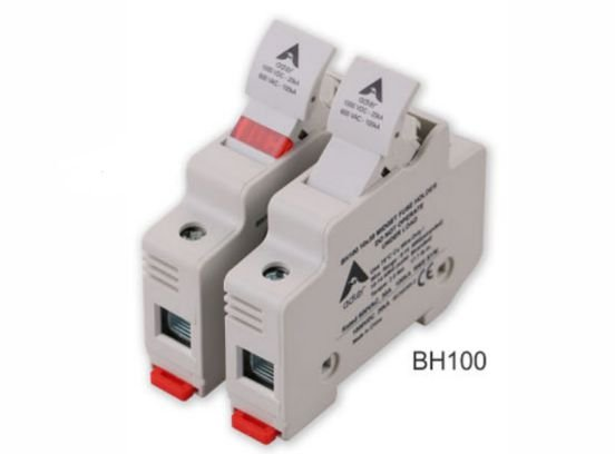 Porta Fusível BH100-01 10x38 0-30A 1000Vdc