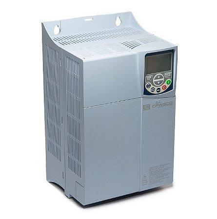 Inversor de Frequência Weg CFW500 10CV 28A 220V + Plug-in IOS