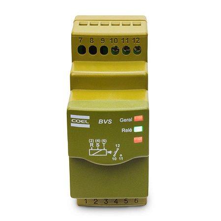 Monitor de Tensão Trifásico Coel BVS1 208-480Vca