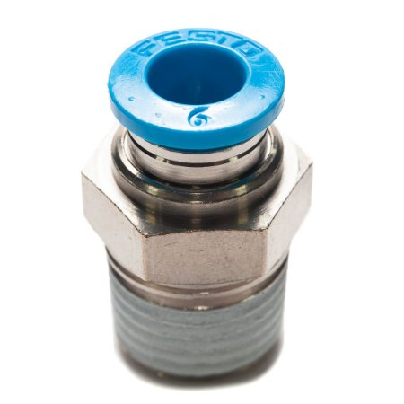 Conexao Pneumatica Engate Rapido Festo Rosca 1/4 x 6mm